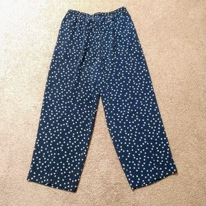 Leslie Fay Sportswear Vintage Navy Jogger Pants